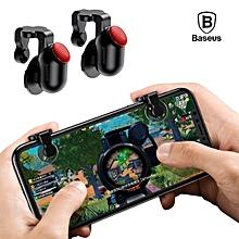 BASEUS Red-Dot Aim Key Button Assistant Tools Mobile Game Scoring Tools (Black) MQSHOP