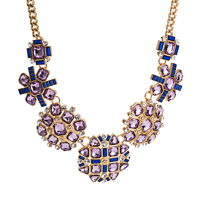 0db56ee8e6f17 Many exaggerated popular necklaces inset to drill an autumn