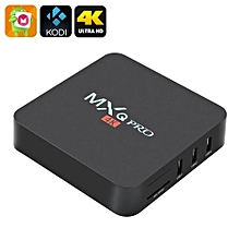 MXQ Pro mini 4K Ultra HD TV Box - KODI - Android 7.1 64Bit Quad Core -Black