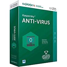Anti-Virus 2019 KAV License 1 PC/ 1 User/ 1 Year/ Key Only