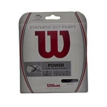 String Tennis Synthetic Gut Power 17: Wrz945500: