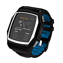 Smart Watch Luxury Wristwatch GT68 Waterproof Dustproof With Heart Rate Measure Dial SMS Remind Bluetooth Android Phone - Intl (Color:Black)