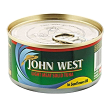 Light Meat Solid Tuna in Sunflower Oil, 170g