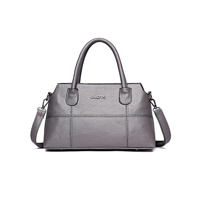 823c8ded51f3 Fashion Women Leather Splice Handbag Shoulder Bag Crossbody Bag Tote Bag