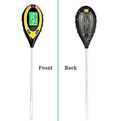 4-in-1 Soil Moisture Sensor Meter, Soil Moisture Monitor, Soil PH Value