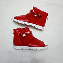 Open Toe Girl Shoes - Children's Shoes