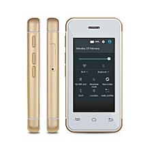 S9 2.4 inch Androrid 4.4 Ulta-slim Mini 3G Smart Phone MT6580 Dual Core 1.2GHz 512MB RAM 8GB ROM Bluetooth Camera WiFi-GOLDEN