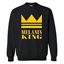 Melain King sweatshirt- black