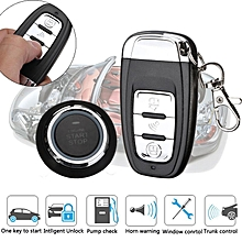 Car Alarm Keyless Entry Ignition Engine Start Push Button Remote System Security