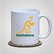 Australian Wallabies Rugby Ceramic Mug