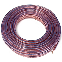 20M Metre 2x0.75mm2 Multi-Strand Loud Speaker Cable/Wire For Home Car Audio