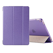 """For IPad Pro 9.7 Case, Coosybo-Smart Cover Folded Ultra Thin Luxury Leather Protective Matte Case For Apple IPad Pro 9.7"""" (Silk-Purple)"""