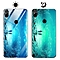 """Huawei Y9 (2019) Case,Dream Luminous Tempered Glass Back Case Non-Slip TPU Bumper Shell Protection Case for Huawei Y9 (2019)/Enjoy 9 Plus 6.5"""" -Eternal Sea"""