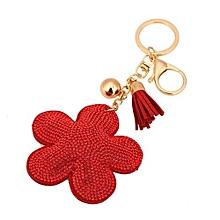Rhinestone Tassel Keychain Bag Handbag Key Ring Car Key Pendant