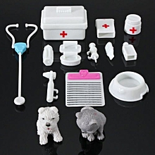14Pcs Mini Medical Equipment Toys For Barbie Fashion Doll Accessories Set New