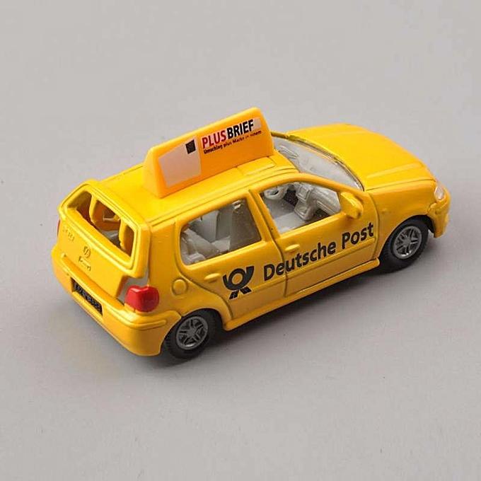 Buy Generic Hot Siku Yellow Deutsche Post Car Diecast Vehicles Model