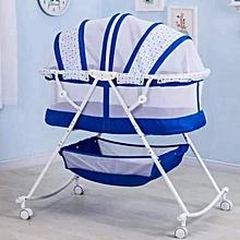 Baby Crib/ Bassinet/ Baby Crib-Blue