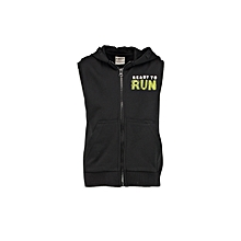 Black Fashionable Vest
