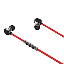 Wireless Stereo Bluetooth 4.0 Headphones with Mic Sport Headset -Red
