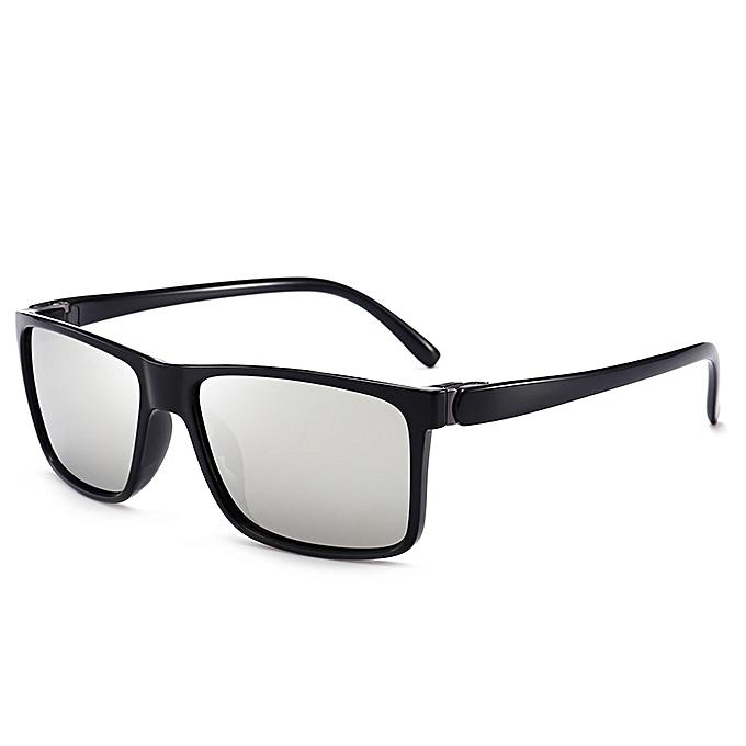 21b799991cec Generic Hot sale Driving mirror polarized sunglasses men s new classic  retro glasses fashion sunglasses wild-sliver gray