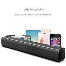 15W Bluetooth Wireless Soundbar HIFI TV Speaker Super Bass Stereo Home Theater