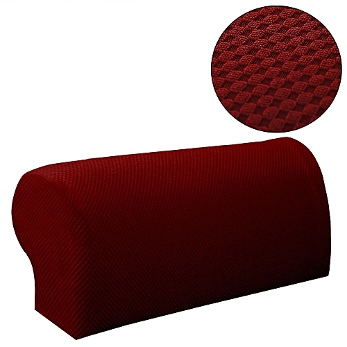 Generic Armrest Covers Stretchy 2 Piece Set Chair Or Sofa Arm