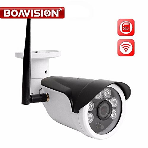 HD 720P 960P 1080P CCTV IP Camera WI-FI Wireless Outdoor Waterproof P2P  View WIFI Surveillance Cameras TF Card Slot APP CamHi (1080P WIFI CAMERA)