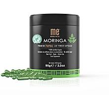 Moringa Leaf Powder Capsules - (200 Capsules)
