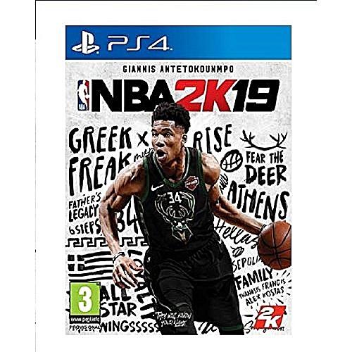 NBA 2K19 - Playstation 4 ps4