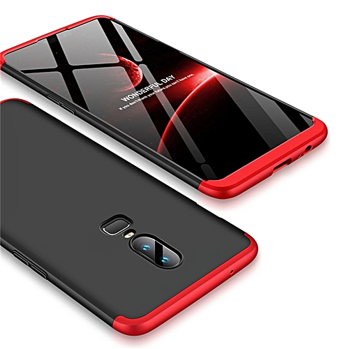 buy popular d4e58 2acc4 For Oneplus 6 Case 360 Degree Full Protection 3 in 1 Hard PC Back Cover For  One Plus 6 Phone Cases Coque Fundas