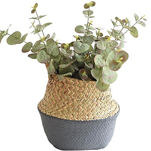 Buy Generic Pliable Fleur Panier Bambou Plante Jardin Vêtement Lavage  Stockage Rangement Pot   Best Price   Jumia Kenya 71394b4b47f