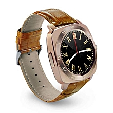 X3 Fashion Smart Watch Phone SIM Camera for Android and Apple - Gold