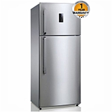 RF/297- 450L No-Frost 2Door Led Fridge- Silver