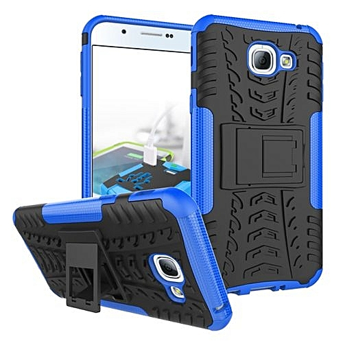 uk availability 9beb6 dcb0c For Galaxy [A8 2016] Case, Hard PC+Soft TPU Shockproof Tough Dual Layer  Cover Shell For 5.7