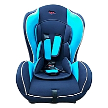 Superior Big size Reclining Car Seat with a Firm Base- Black and blue( 0-7 yrs)