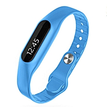 Smart Wristband E06 Touch Screen Mi Band Bracelet Fitness Tracker  (Color:Blue)