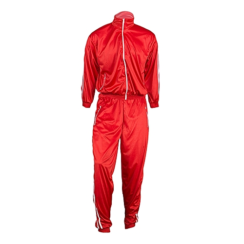 With Unisex Stripes Two CONNATE Red White Tracksuits xqB8g46w1