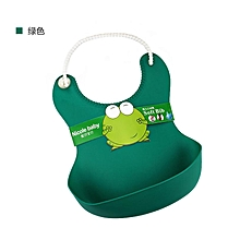 Cartoon Waterproof Baby Kids Feeding Bib Washable Children Elastic Food Eating Tool