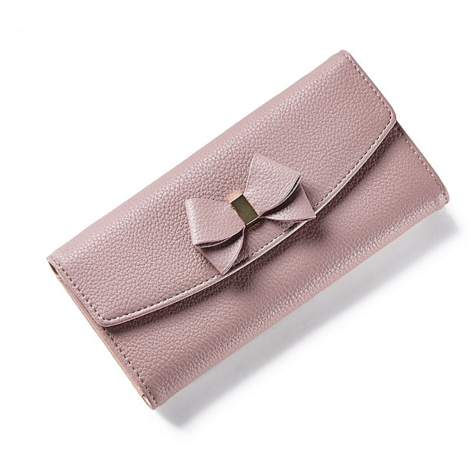 f03e4af6b1 WEICHEN Bow Designer Ladies Wallet Many Departments Female Wallets With  Card Holder Phone Coin Money Pocket