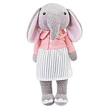 Metoo Cute Stuffed Cartoon Elephant Design Babies Plush Toy Doll For Kids Birthday / Christmas Gift 8