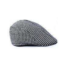 Duckbill Driving Flat Ivy Beret Cap Peaked Sport Hat Golf Cabbie Hat BK