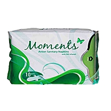 Moments Anion sanitary Pads (10pads)