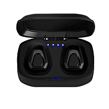 Mini Wireless Bluetooth Earbuds True Bass Twins Stereo In-Ear Earphone Headset