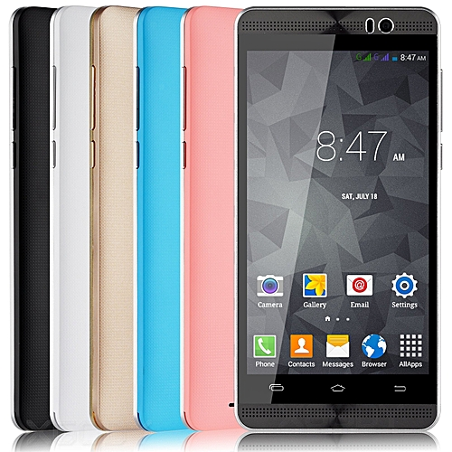 """5.0"""" un-locked Dual Core Android 4.4 Smartphone 3G qHD Cell Phone 5MP GPS- black"""