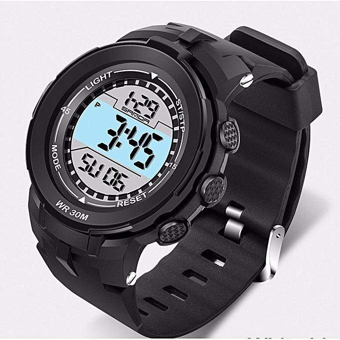 Fashion Sports Watches Men Waterproof Silicone Fashion LED Digital ... 9777a26a6e