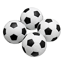 31mm Table football plastic accessories Table football package plastic football 31mm football Category: plastic football Material: resin Color: black and white