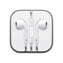 Apple Earphone with Mic and Remote for Apple iPhone iPod iPad (White)