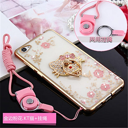 Luxury Rhinestone Phone Case Cover Holder Stand For Vivo X5PRO X5prod X5Prov Protective Ultra-thin