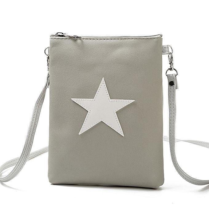 ... New Women PU Leather Shoulder Bag Cute Casual Crossbody Bags Girls Mini  Bag Tote Mobile Phone ... b0f192eb3d