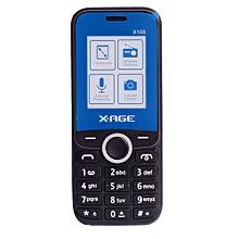105X- (Dual SIM), Black